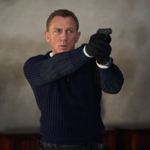 B25_25594_R James Bond (Daniel Craig) prepares to shoot in  NO TIME TO DIE,  a DANJAQ and Metro Goldwyn Mayer Pictures film. Credit: Nicola Dove © 2019 DANJAQ, LLC AND MGM.  ALL RIGHTS RESERVED.