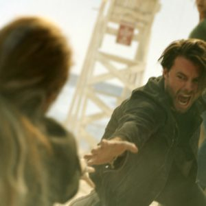 Nathan (Thomas Cocquerel) in Columbia Pictures' ESCAPE ROOM: TOURNAMENT OF CHAMPIONS.
