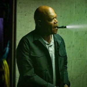 Polizeiveteran Marcus Banks (Samuel L. Jackson) hilft bei den Ermittlungen