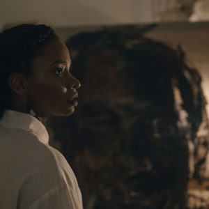 Teyonah Parris as Brianna Cartwright in Candyman, directed by Nia DaCosta.